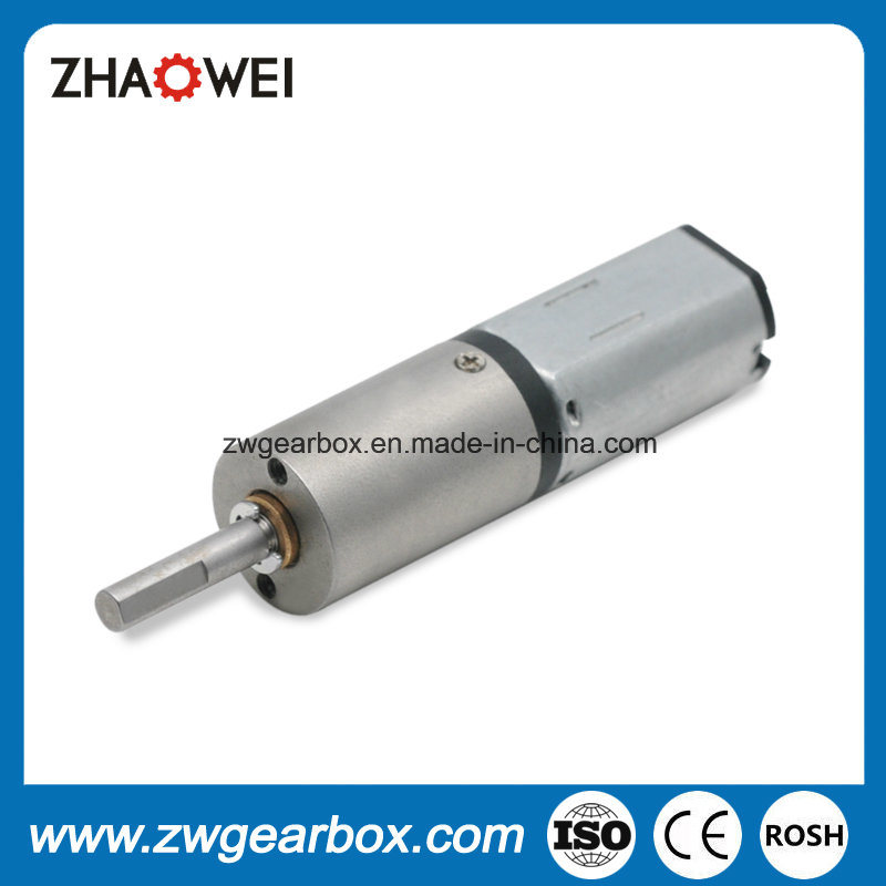 Diameter 12mm 3V Geared Motor Metal Shell Planetary Gearbox