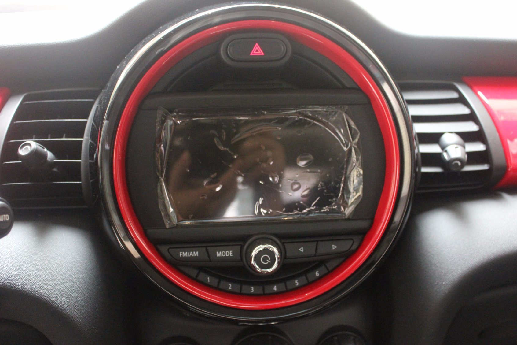 Interior Rings Black Color Mini Cooper F56 (11PCS/Set)