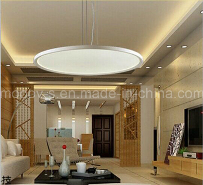 Modern Ultra Thin Round Flat Panel LED Lights Pendant Lighting