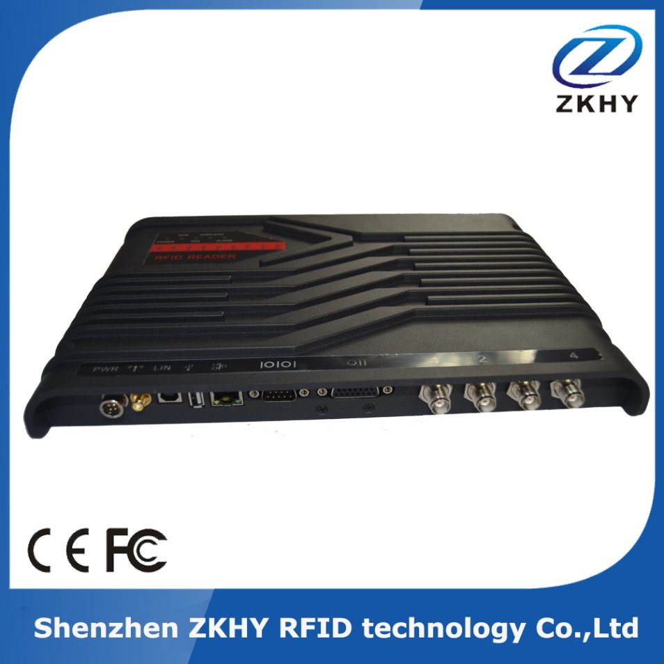 Industrial Control Impinj R2000 Chip 4 Channel UHF RFID Fixed Reader