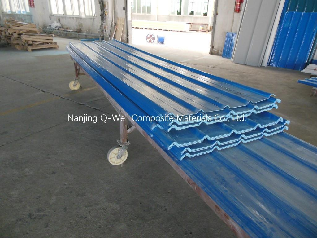 FRP Panel Corrugated Fiberglass/Fiber Glass Color Roofing Panels W172005