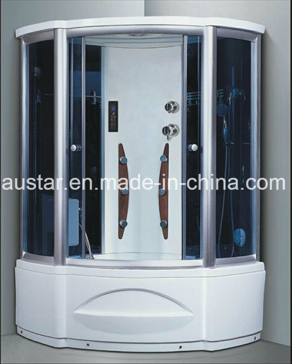 1230mm Sector Steam Sauna with Jacuzzi and Shower (AT-G8208-1)