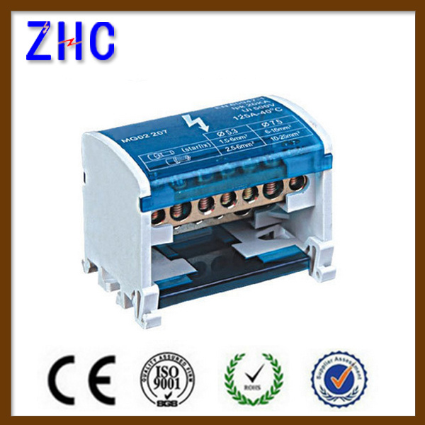 65*42*50 Waterproof Electric Brass Connection Terminal Block with Box
