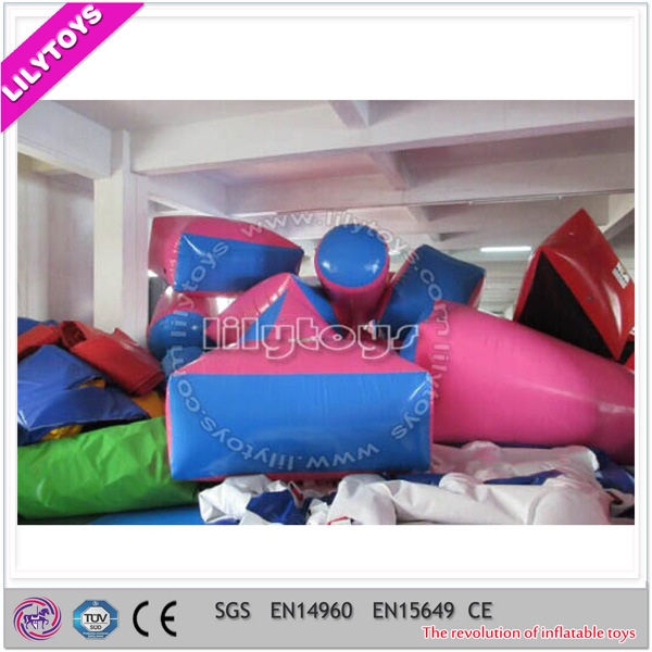 Inflatable Paintball Obstacles for CS Game, Inflatable Paintball Bunker