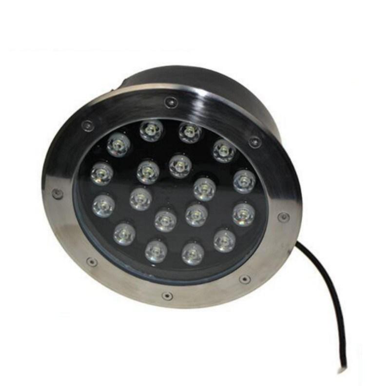 18W Recessed LED Underground Light RGB LED Inground Lamp Outdoor