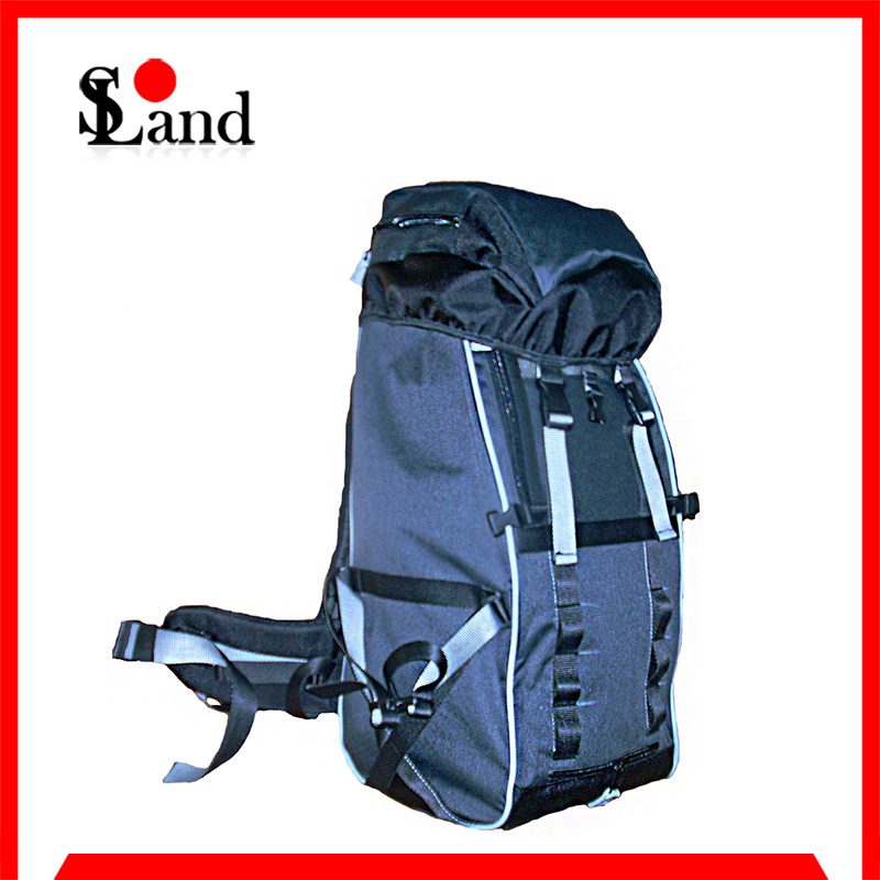 Grey Skiing Hiking Shoulder Bag Backpack