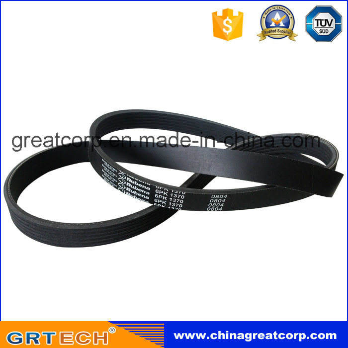 6pk1370 Good Quality Rubber V-Belt