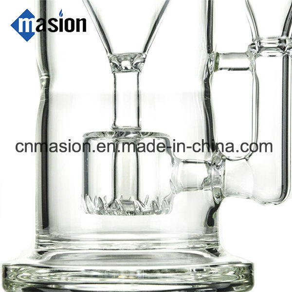 High Quality Recycler Oil Rig Glass Water Pipe (EY001)
