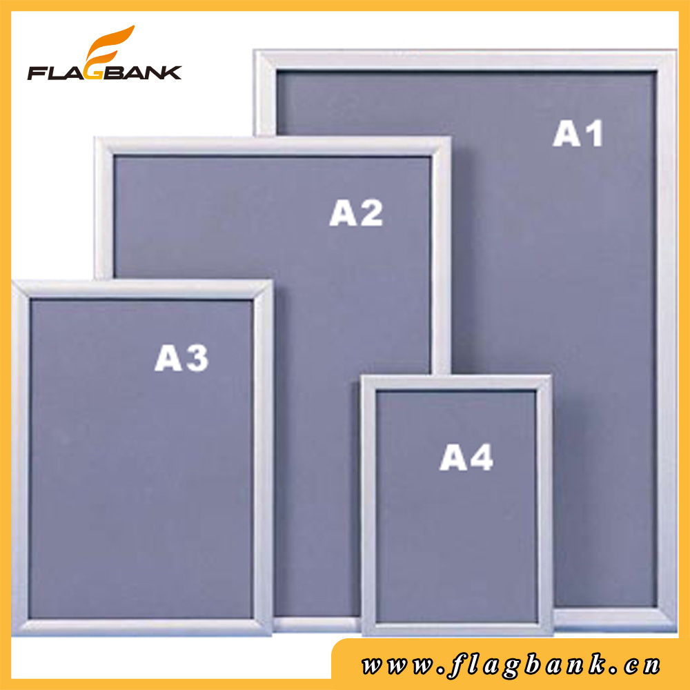 Poster Frame 32mm Edge Aluminium for Advertising