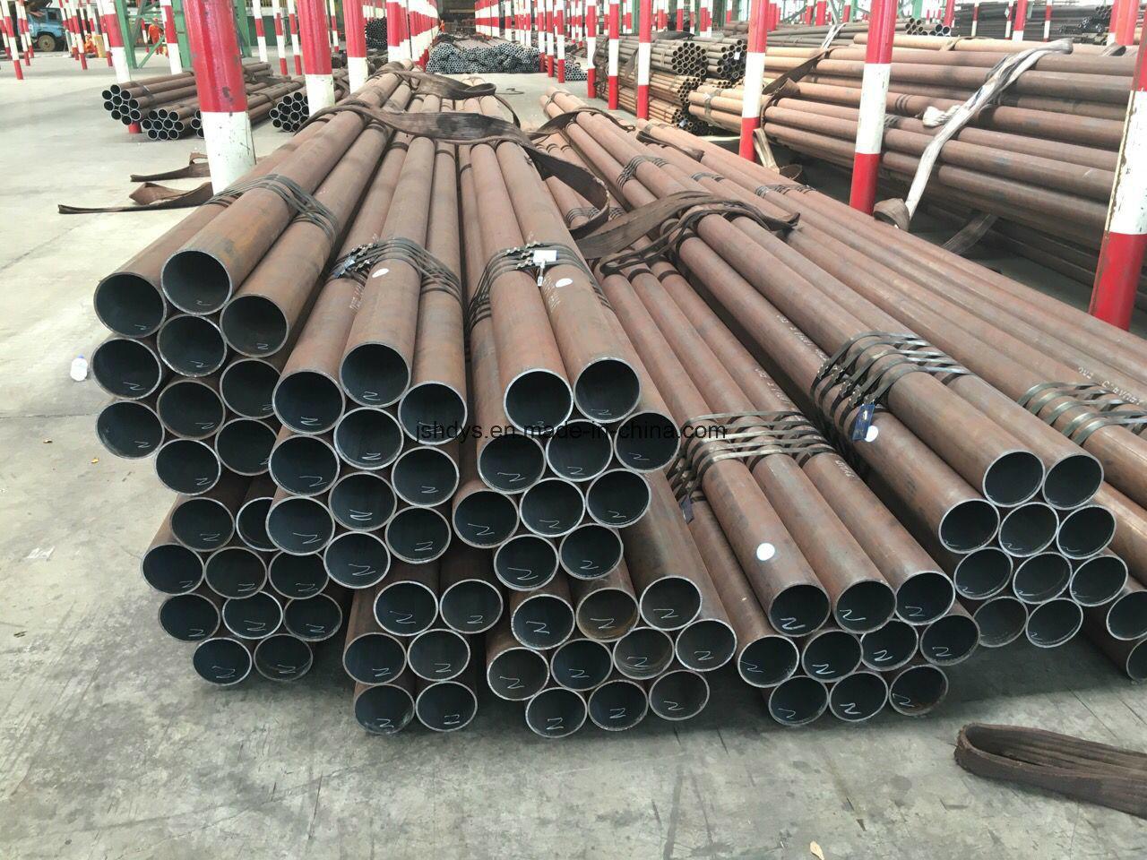 Hot Rolling Cylinder Steel Tubes for CNG Gas Bottle