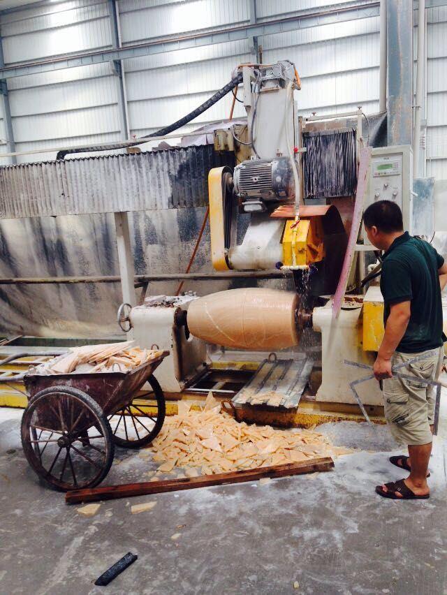 Drc-230/460-2 Stone Baluster Cutting Machine Granite / Marble Profile Machine