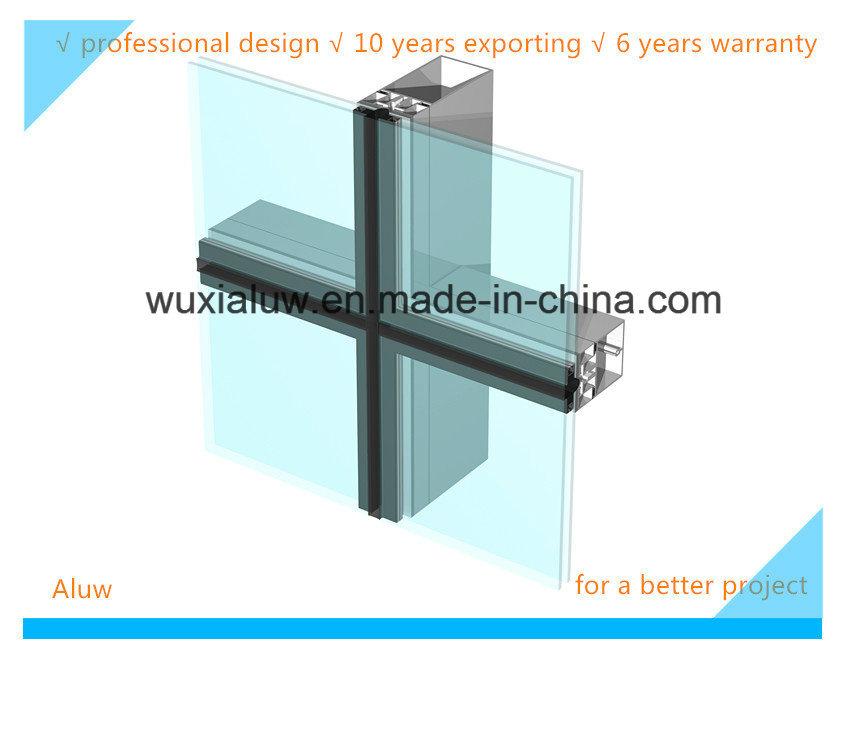 Energy Saving Hidden Glass Curtain Wall