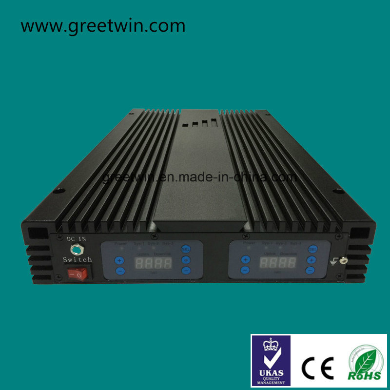 20dBm DCS WCDMA Lte2600 Tri Band Mobile Booster with Two Digital Display