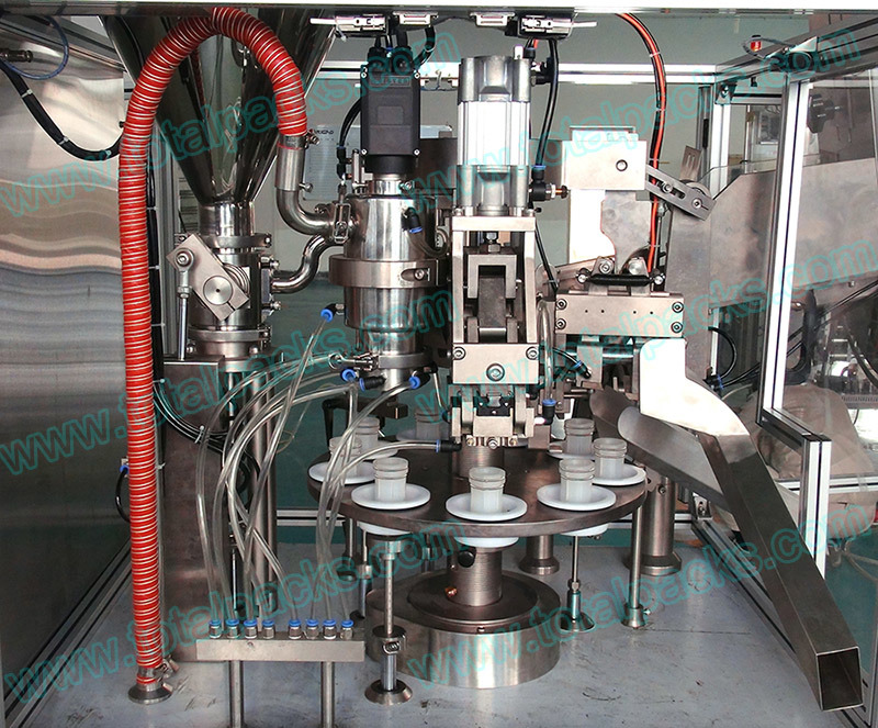 Automatic Plastic Tube Filling Sealing Machine (TFS-100A)