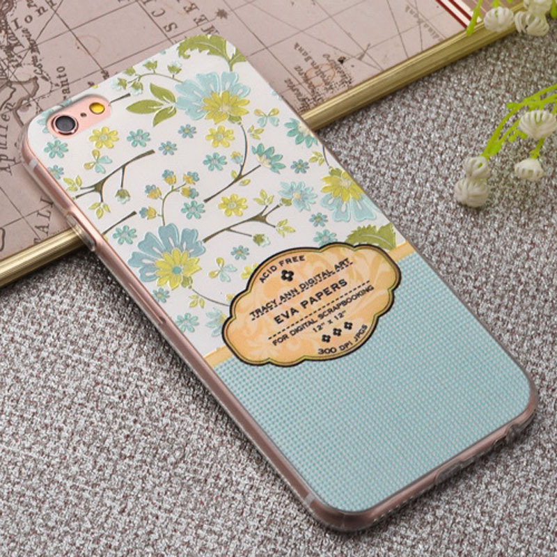 Leather Wallet Lovely Design Flip Cover Mobile Cell Phone Case