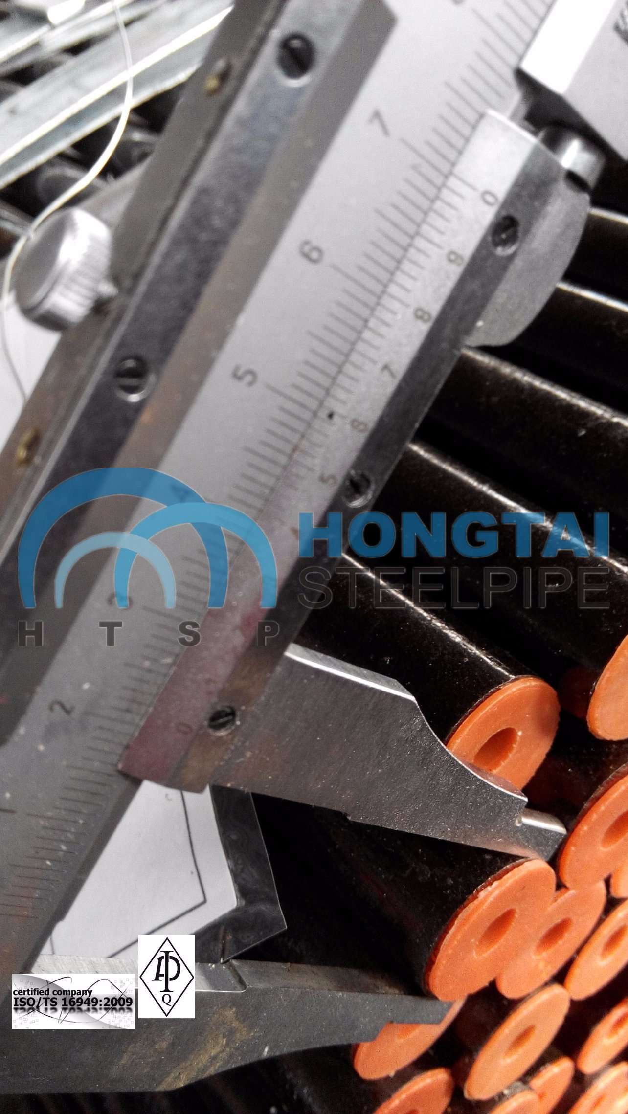 Top Hot Rolled ASME A53 Gr B Seamless Steel Pipe with API Certificate