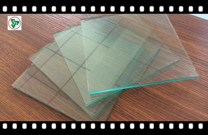 8mm Clear Float Building Glass with Ce, ISO