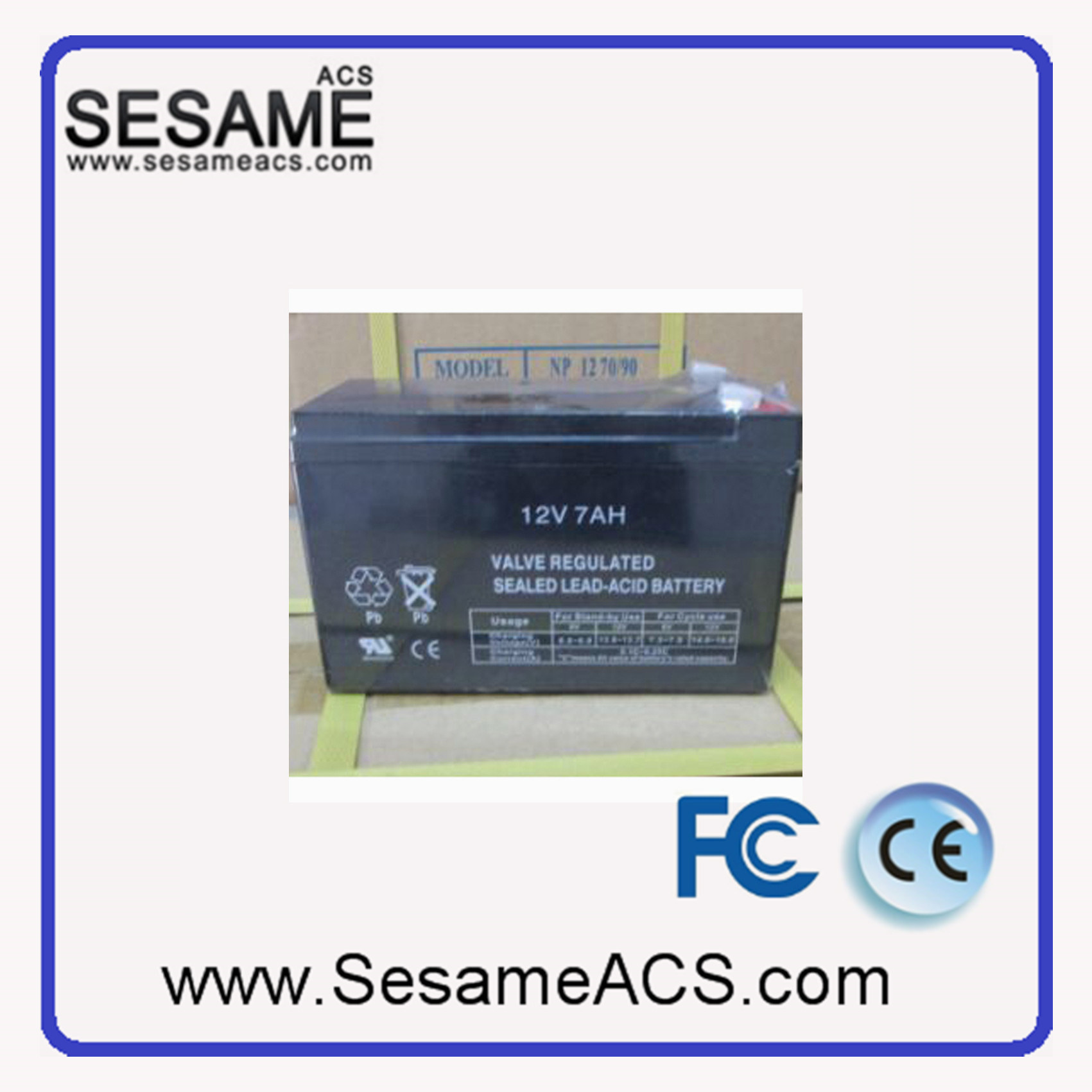 Access Control Power Supply with Battery Back up 12V (KPSB-3A)
