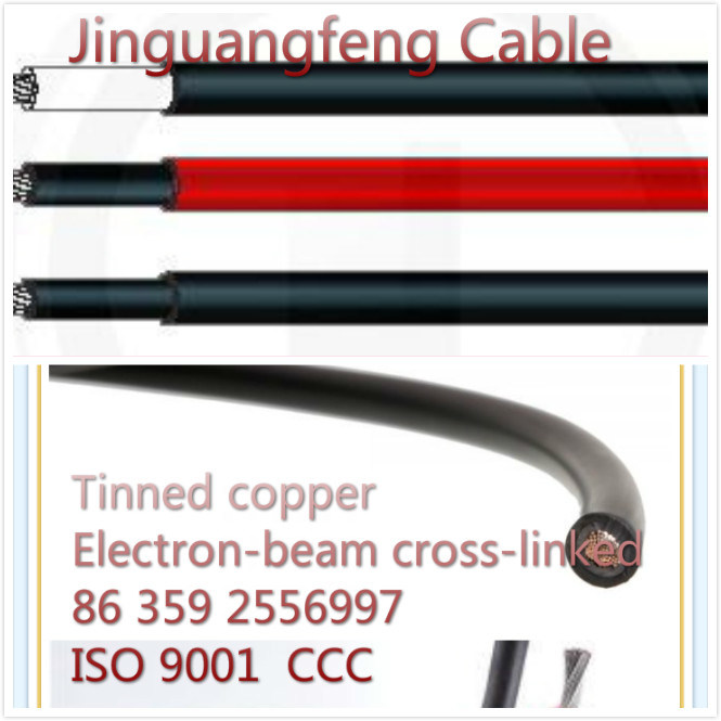 Made in Jinguangfeng Tinned Copper PV Solar Cable