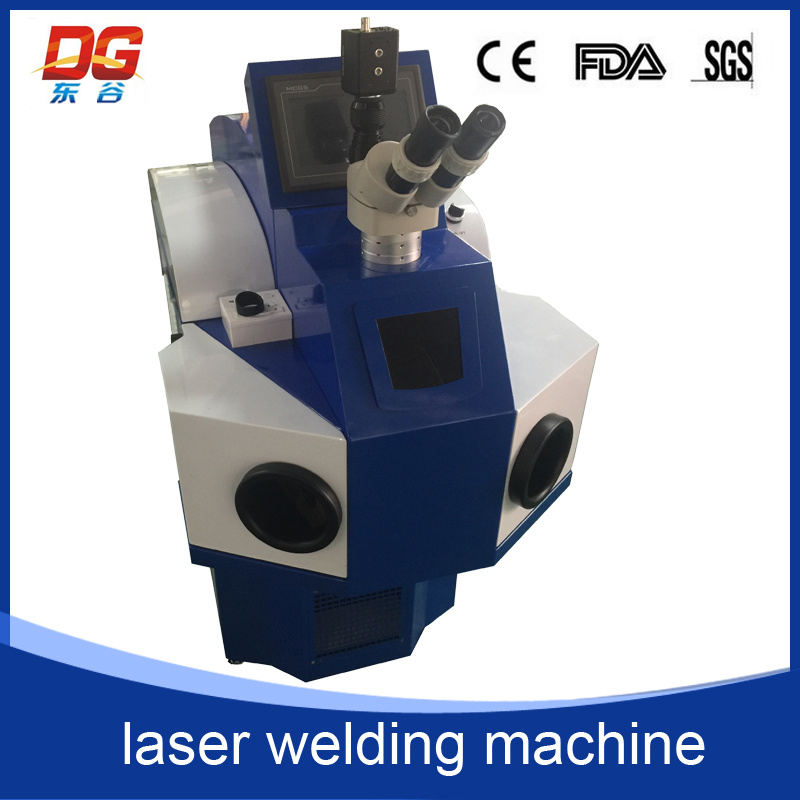 High Efficiency 200W Build-in Jewelry Laser Welding Machine Spot Welding