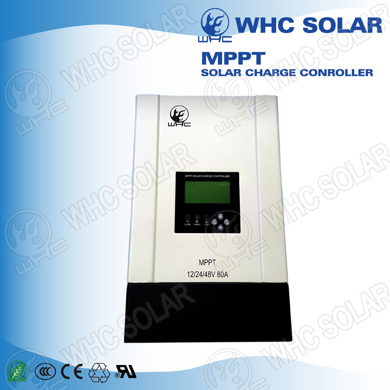 Ce Approved 80A Air Cooling MPPT Solar Charge Controller