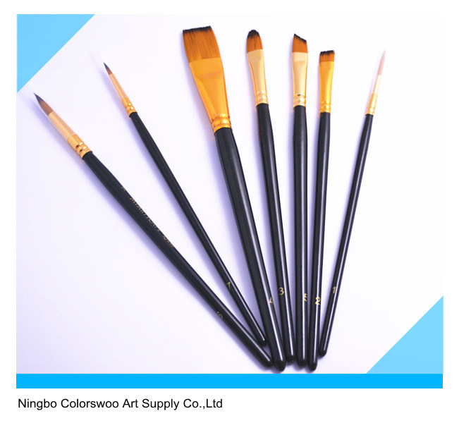 7PCS Artist Brush for Painting and Drawing