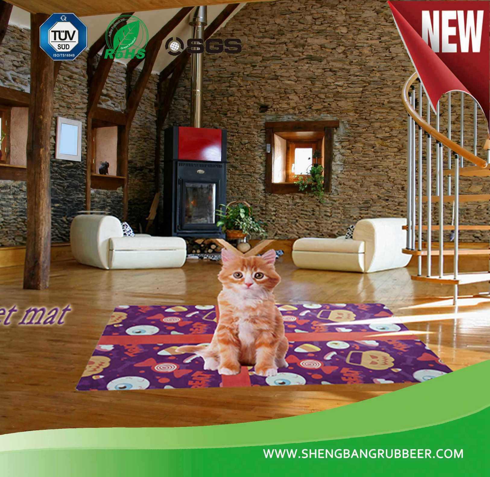 New Fashion Rubber Floor Mat Pet Mat Playing Mat Door Carpet
