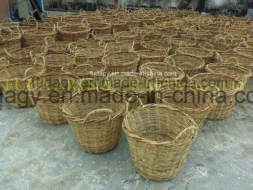 Rabbit Salim Rattan Garden Basket