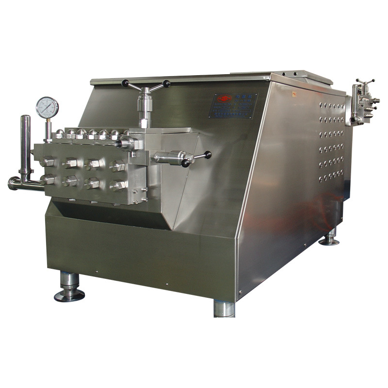 Food Sanitary Stainless Steel 5000L/H 40MPa Juice Homogenizer