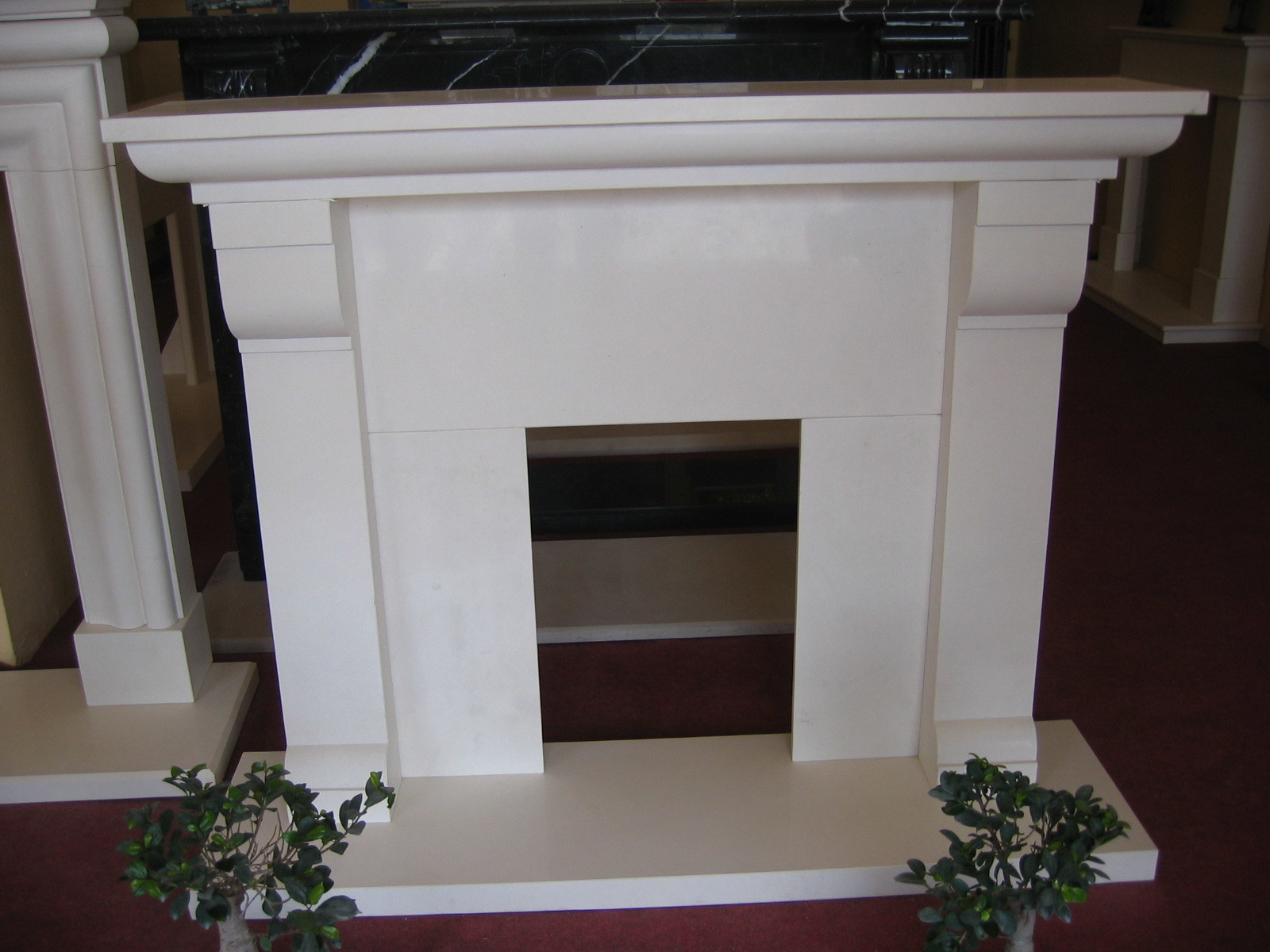 Indoor Marble Decorative Fireplace Surround