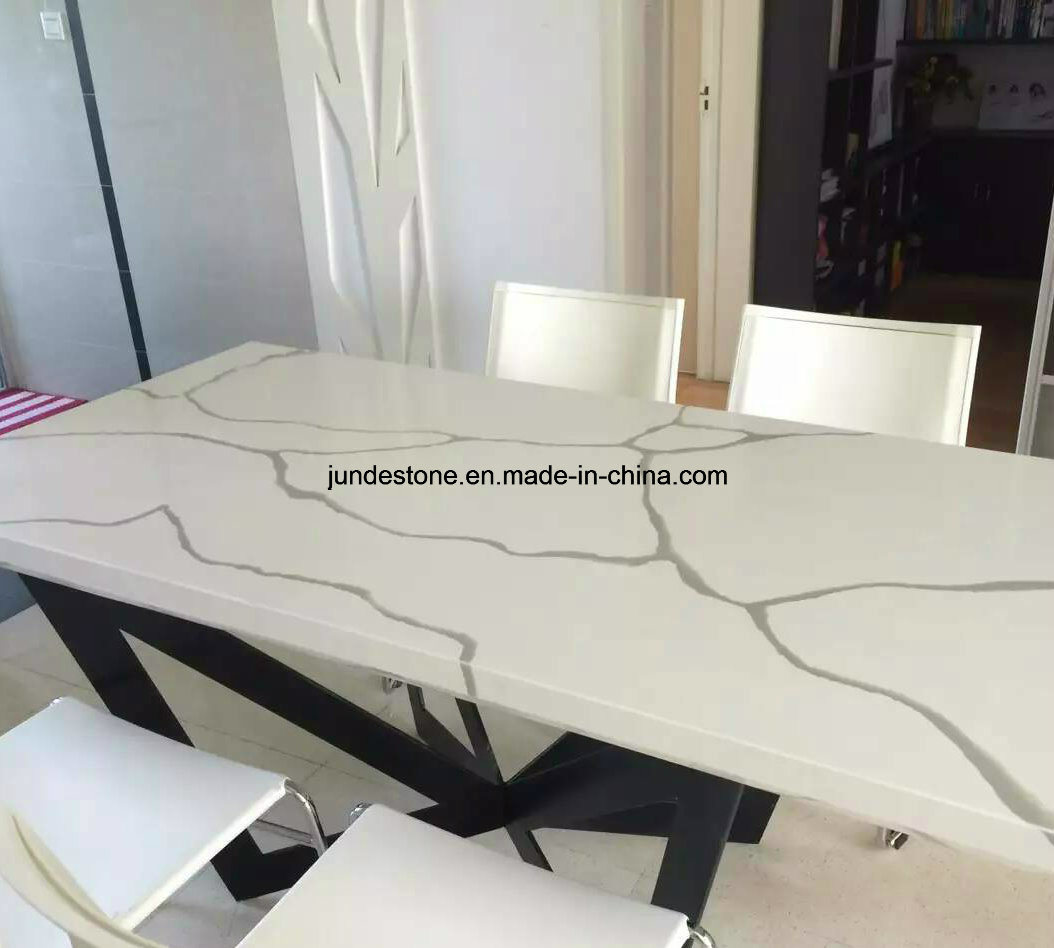 Colorful Calacatta Artificial Quartz Countertop