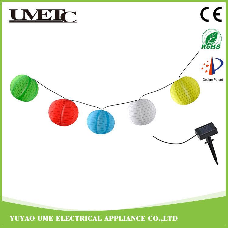 Outdoor Solar LED Garden Decoration Holiday Name String Lights