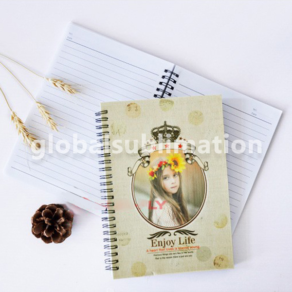Sublimation A5 Notebook with Customized Gift