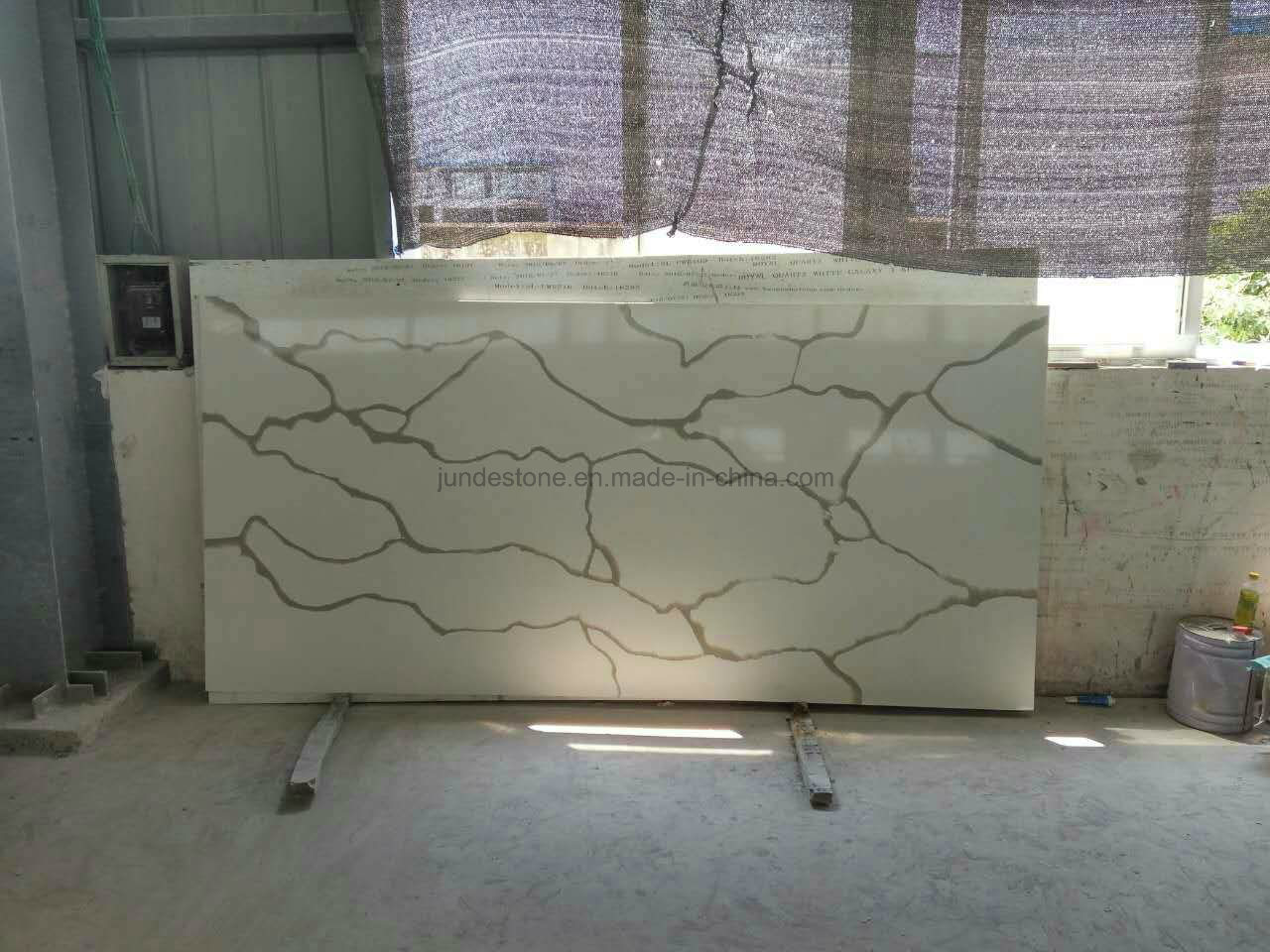 Colorful Calacatta Artificial Quartz Countertop