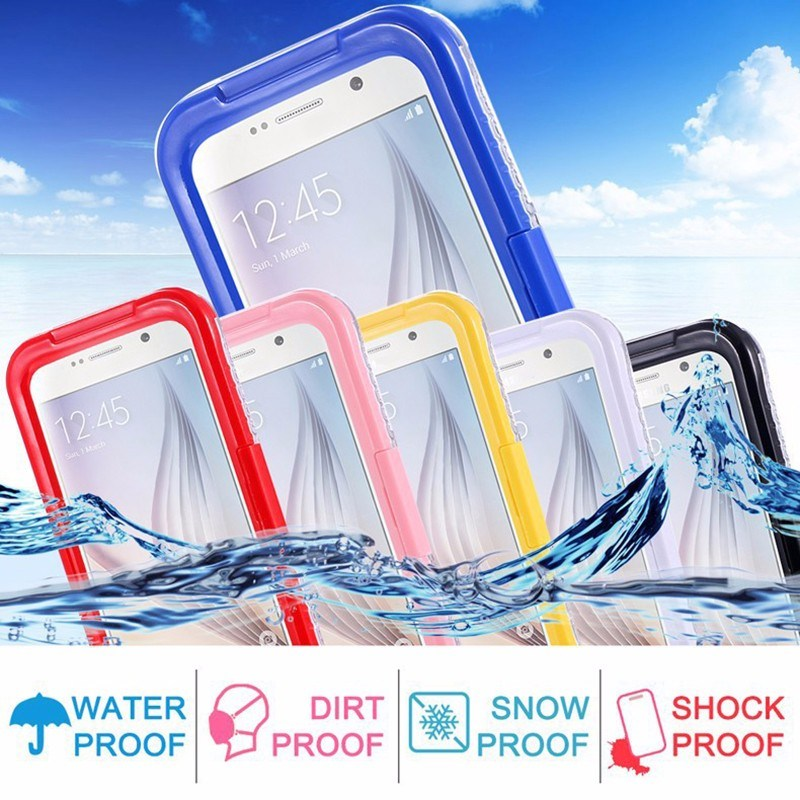 Waterproof Smart Phone Accessories Cell Phone Case for iPhone 7
