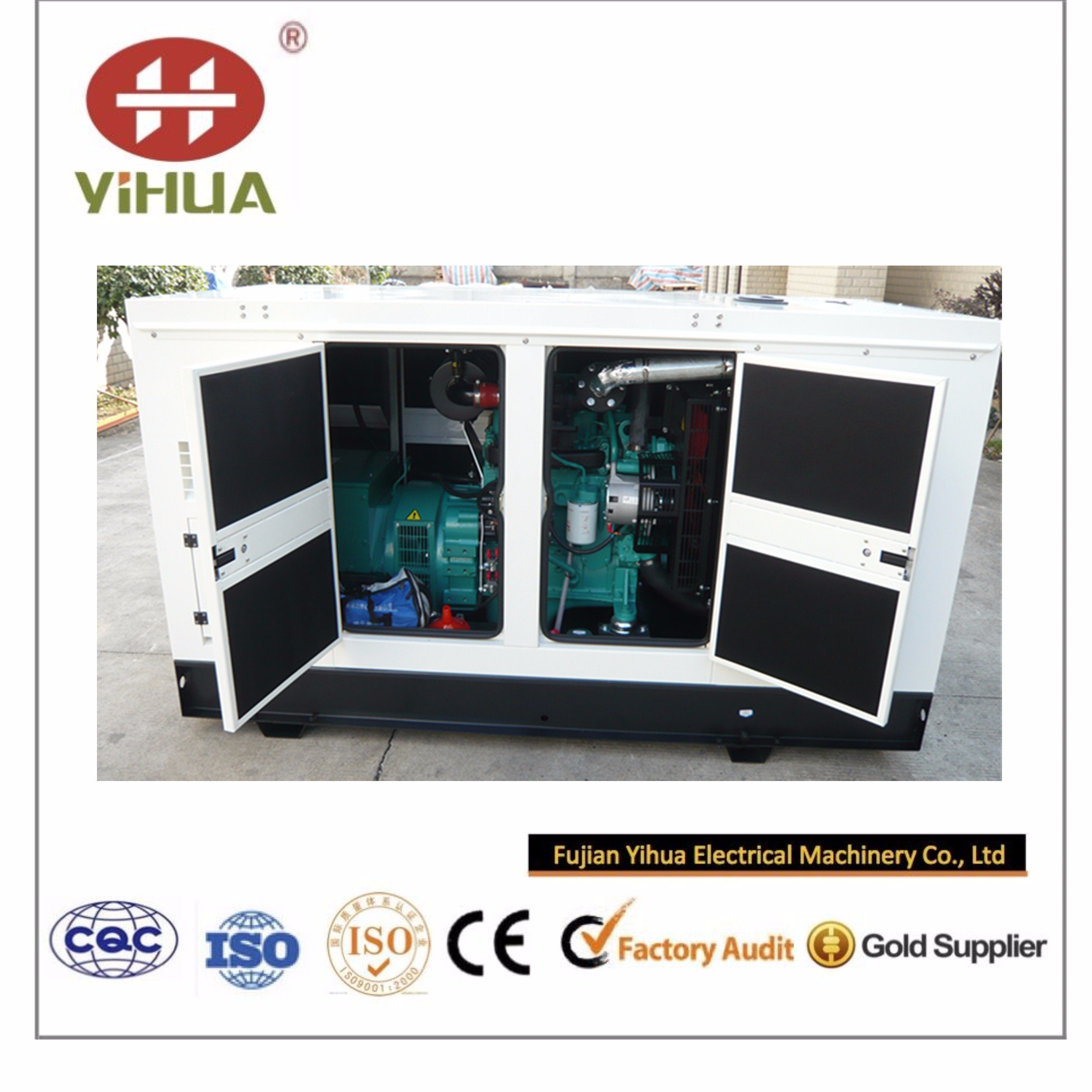 20kVA~250kVA Super Silent Diesel Power Generator with CPT Cummins Engine