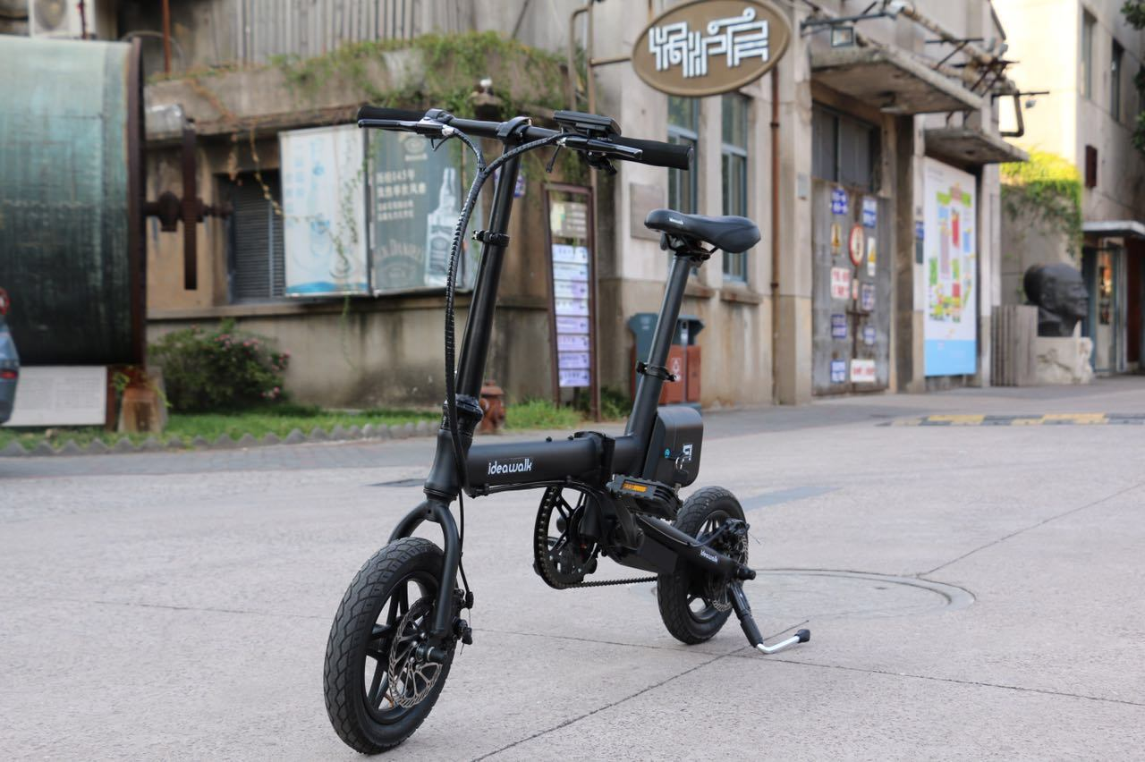 12′′ Aluminum Alloy Folded Electric Bike with Lithium Battery (Ideawalk F1)
