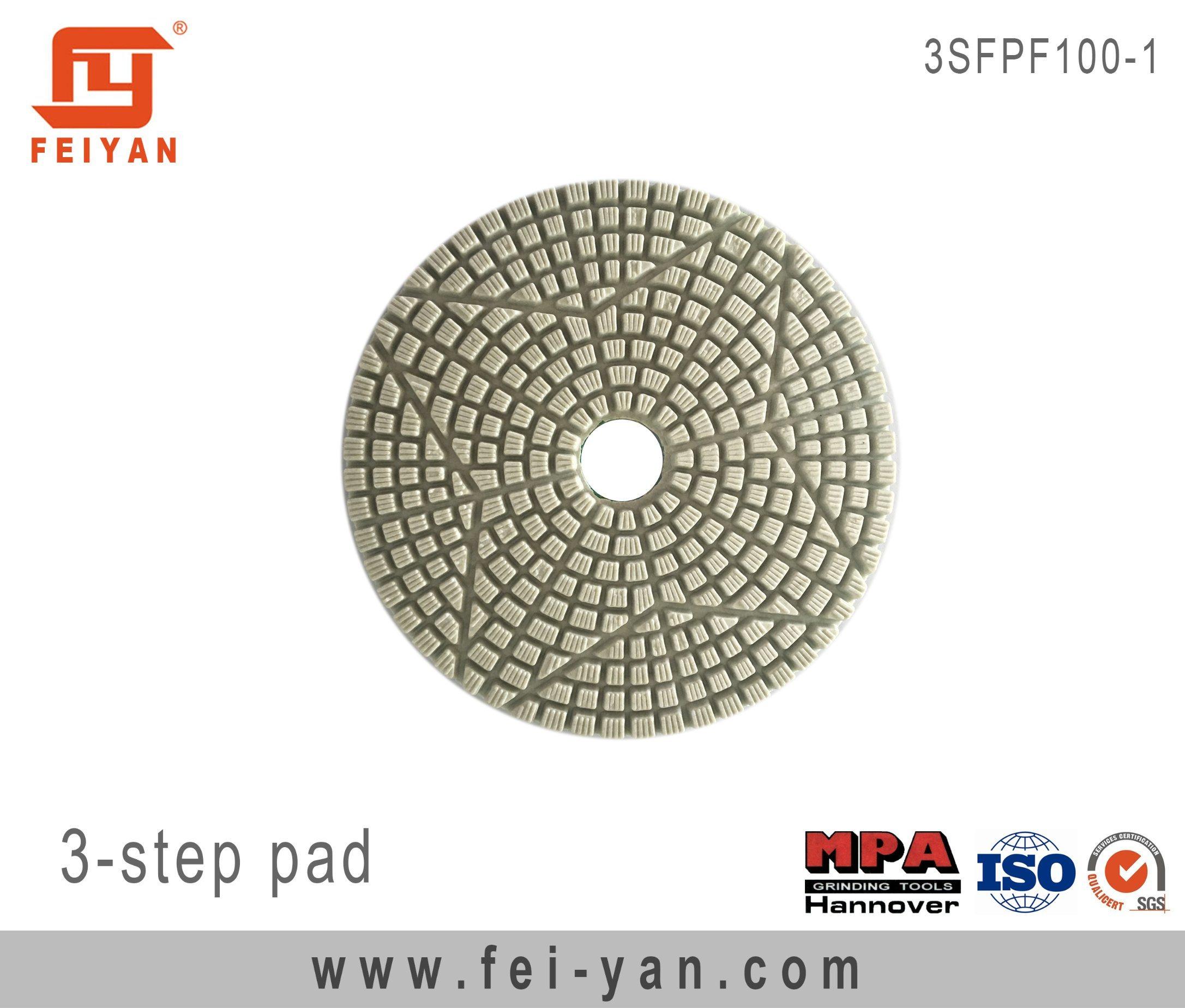 3-Step Polishing Pad