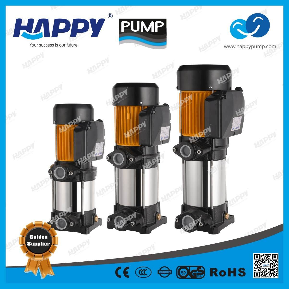 Self-Priming Multistage Pump (HMC170-SV)