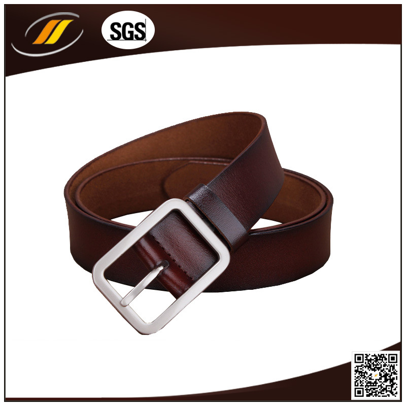 Factory Customized Genuine Leather Belt for Men (HJ1215)