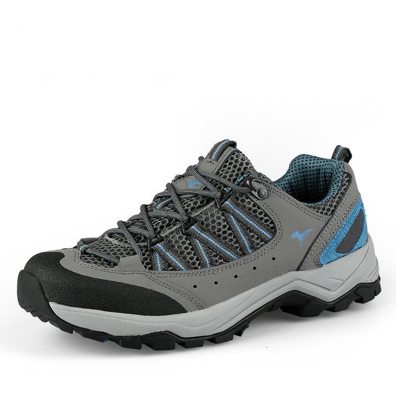 Hiking Safety Climbing Mountian Trekking Shoes for Men (AK8871)