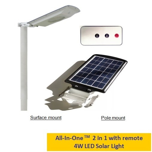Top4 Best Sales Solar Powered LED Yard/ Garden Light