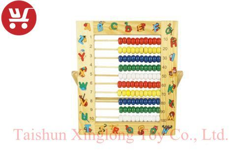 China XL10050 New Multifunction Children Wooden Abacus Frame ...