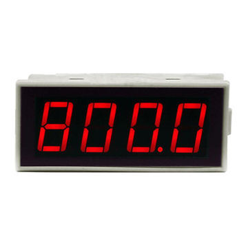 2-Wire 4-20mA LED Display Meter