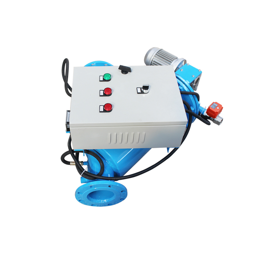 Auto Cleaning Brush Type Water Filter for 100/200 Micron Coarse Filtration