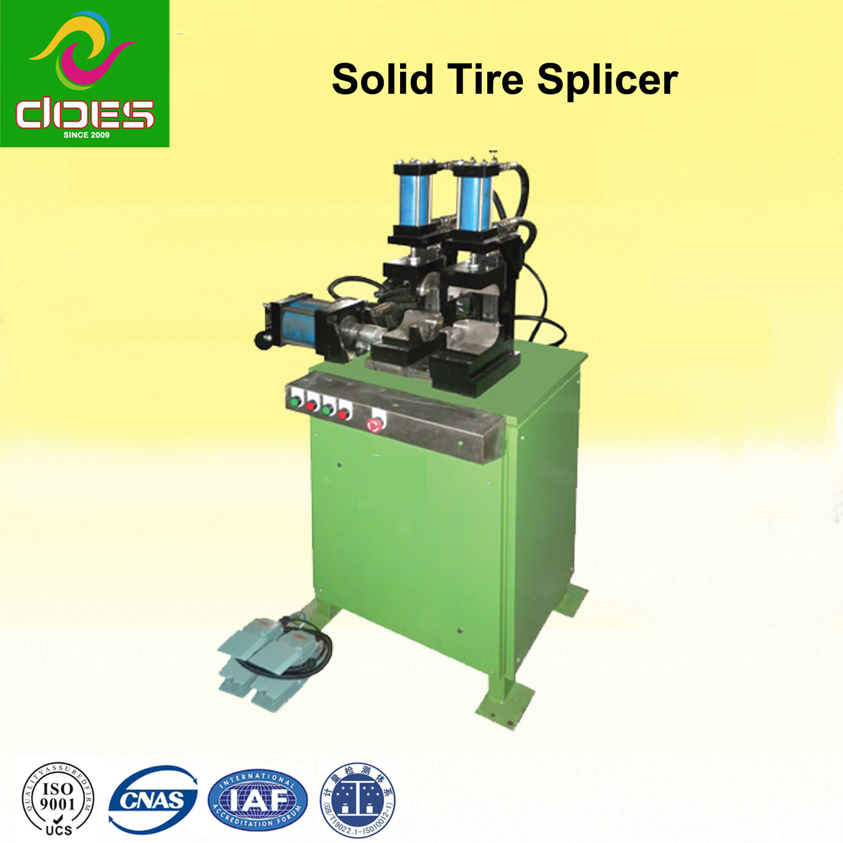 Rubber Tire Splicer for Solid and Air Tyre ′s Machine