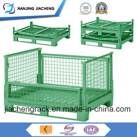 Stackable Folding Metal Wire Mesh Pallet Cage with High Quality