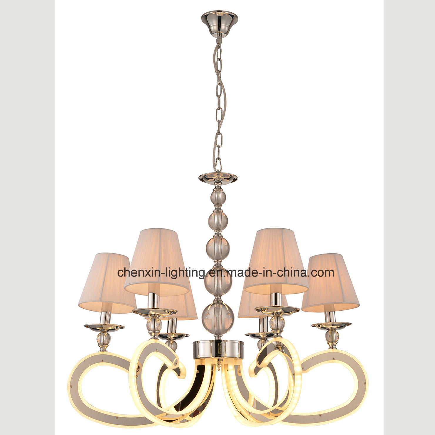 2016 Big Project Clear Acrylic Chandelier Light Lamp