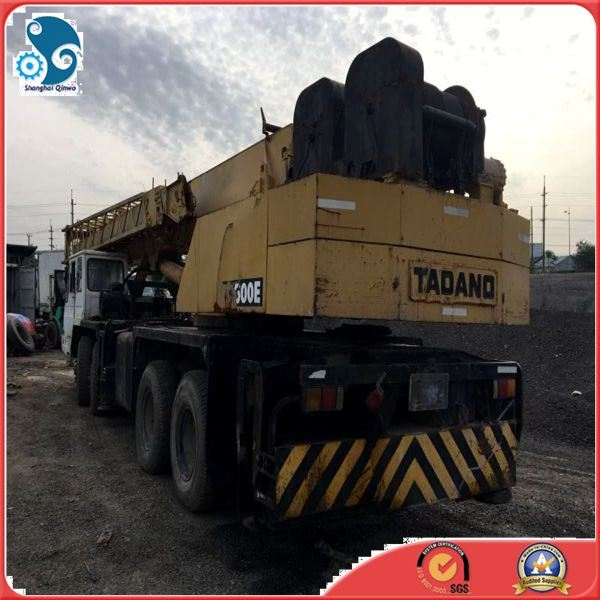 50ton Top Quality Used Tadano Truck Wheel-Moving Hoist Crane