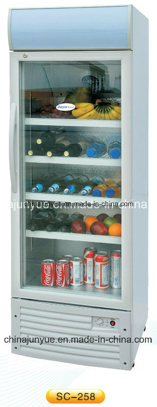 China DC 12V 24V Solar Display Cupboard Refrigerator